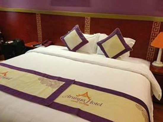 Aranya Hotel: Our room