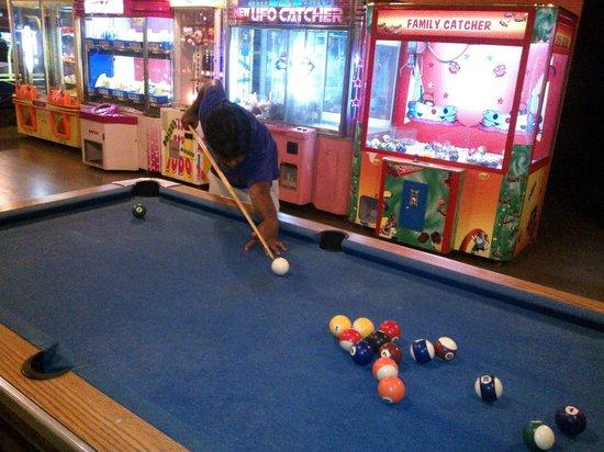 Hakone: Pool Table Match