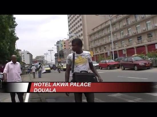 Hotel Akwa Palace : Akwa palace down street.