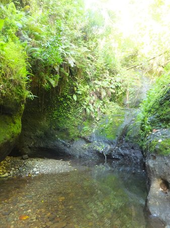 Wigmore's Waterfall: Bit of an anti-climax when we saw it
