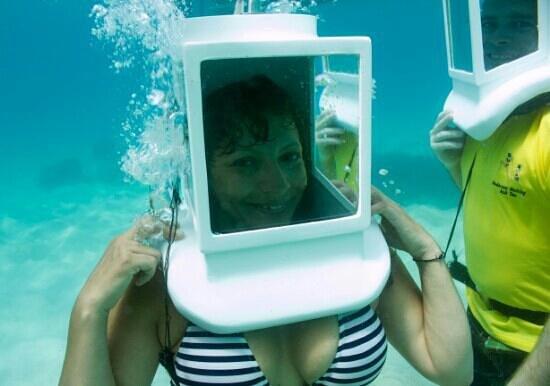 Seawalking: underwater fun!