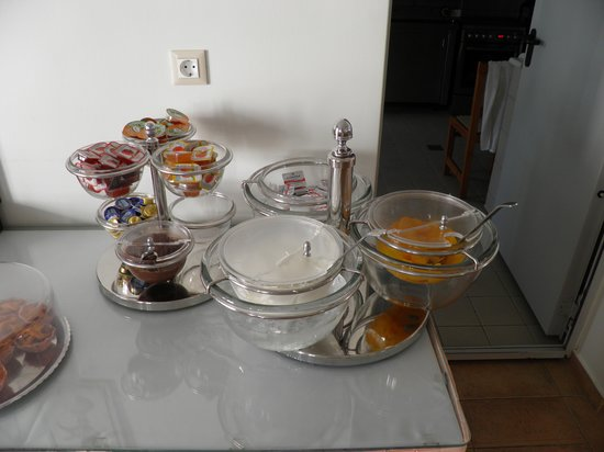 Hotel Katerina: Breakfast buffet