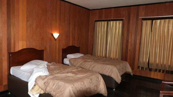 Bromo Cottages Hotel: nos lits