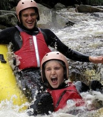Storms River, Südafrika: Blackwatertubing
