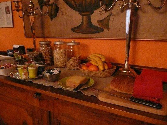 BnB Wonderlandscape: Breakfast buffet