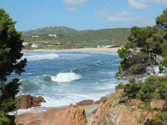 Isola Rossa, Italie : spiaggia sa marinedda