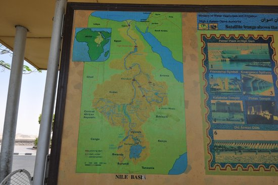 Nile hidrographic basin, Aswan High Dam, May 2013