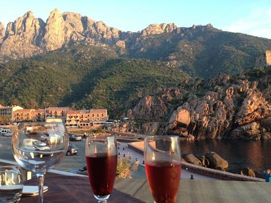 Restaurant La Mer: Apéro montagne mer et coucher de soleil