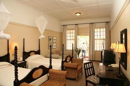 The Victoria Falls Hotel: Standard Room