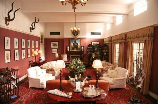 The Victoria Falls Hotel: Reading Room