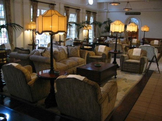 The Victoria Falls Hotel: Lounge Area
