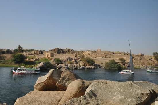 Elephantine Island from Nubian Restaurant, May 2013