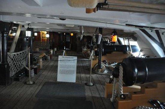 HMS Warrior 1860: HMS Victory
