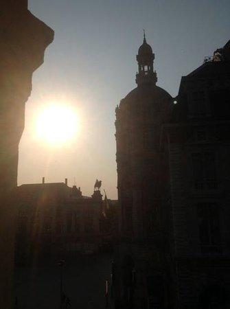 Leonardo Hotel Antwerpen: Uitzicht vanuit een kamer