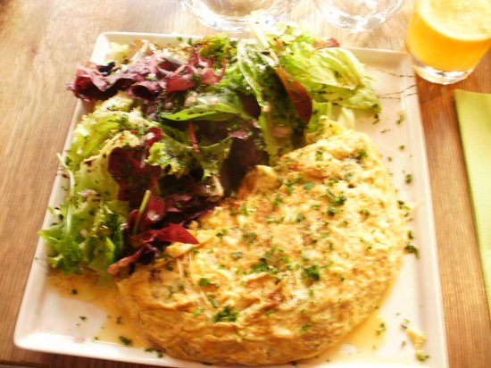 Picorette: One of our meals