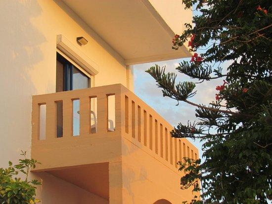 Esplanade Hotel Apartments : balcone vista mare