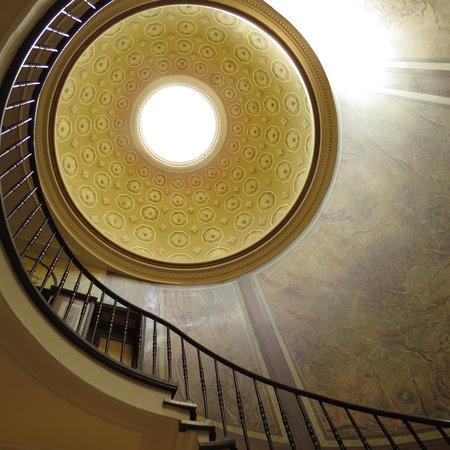 Sandton Grand Hotel Reylof: Mooie, historiche traphal aan de receptie