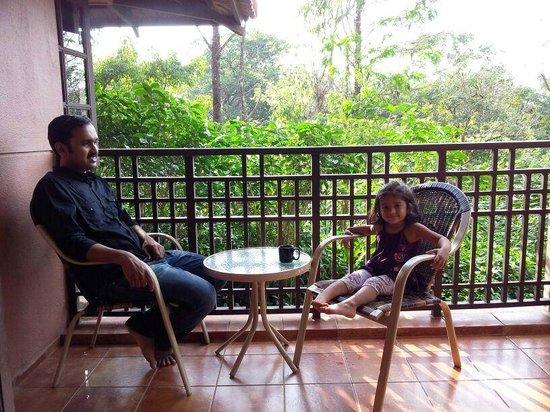 Club Mahindra Madikeri, Coorg: Balcony