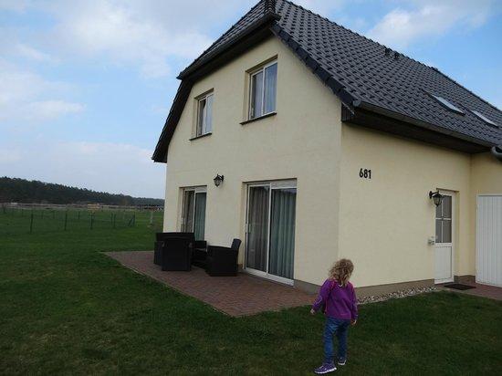 Linstow, Germania: Vores hus (80 kvm)