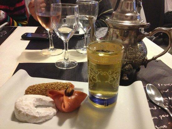 Les Capucines : Thé à la menthe gourmand