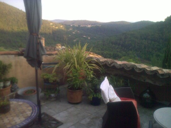 Muller's Bed & Breakfast : View from terrace/room