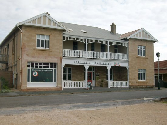 beach house front view  picture of port elliot beach house yha, port elliot beach house, port elliot beach house accommodation, port elliot beach house adelaide
