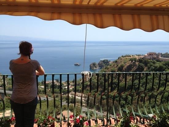 Inserisci didascalia foto di b b la terrazza sul mare taormina