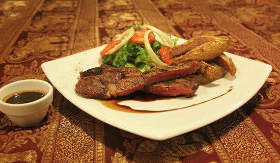 Manohra Cozy Restaurant : Australian Rib Eye steak