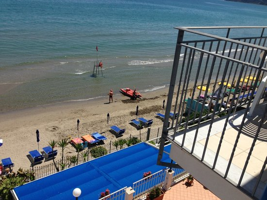 Hotel La Balnearia : Blick auf den hoteleigenen Strand