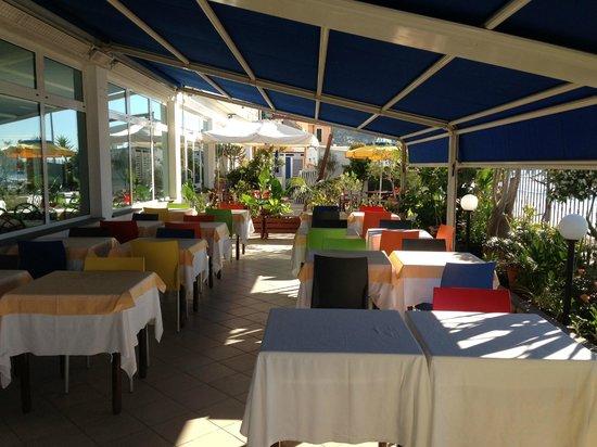 Hotel La Balnearia : Terasse
