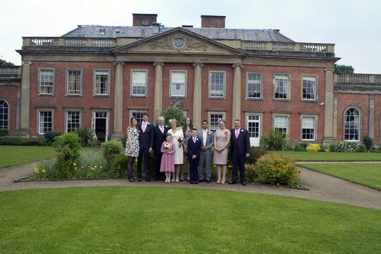 Colwick Hall Hotel: Gardens at rear