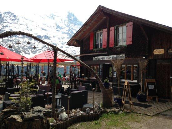 Grindelwald, Schweiz: Restaurant Aellflueh