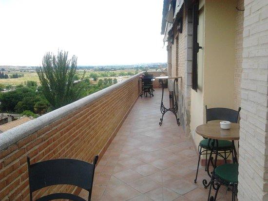 Hotel Medina de Toledo: terraza de la cafetería
