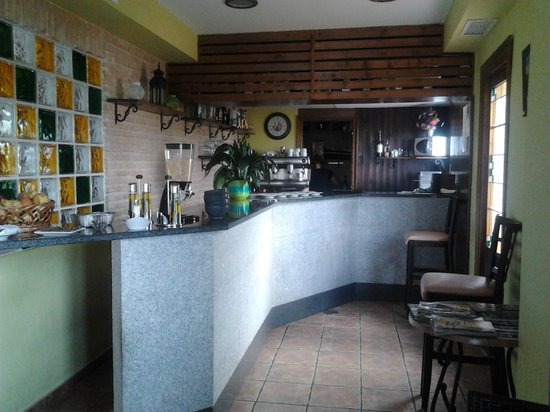 Hotel Medina de Toledo: cafetería del hotel