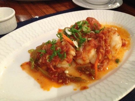 L'wzaar Seafood Market: Hot & Sour Large Prawns