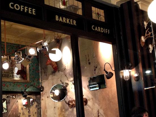 Coffee Barker Vintage Inside