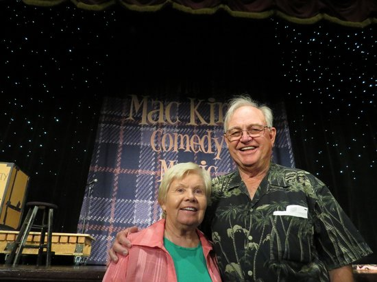Mac King Comedy Magic Show: Mom and Dad on Front Row for Mac King