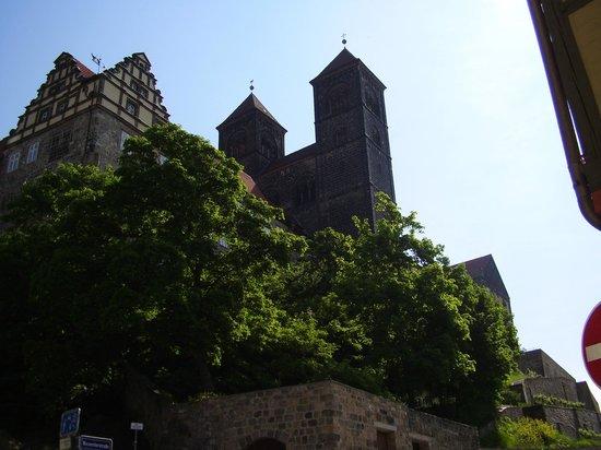 Hotel Domschatz : Blick aus dem Hotelzimmer