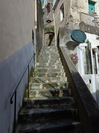 Conca d'Oro: Some of the stairs