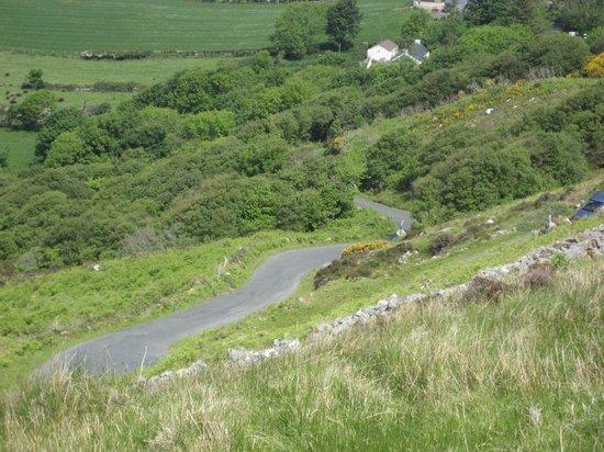 Mamore Gap: Long way down!