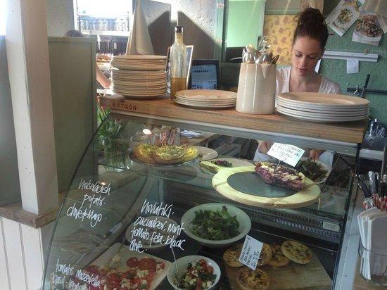 Cafe Marmalade: The salads—more yum :)