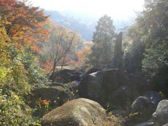 Gifu Prefecture, Japan: 鬼岩公園
