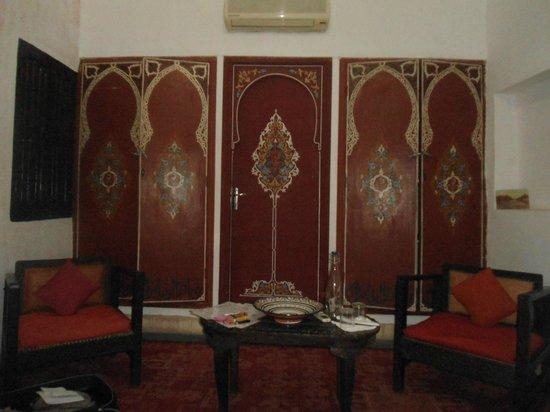 Riad Abaca Badra: chambre