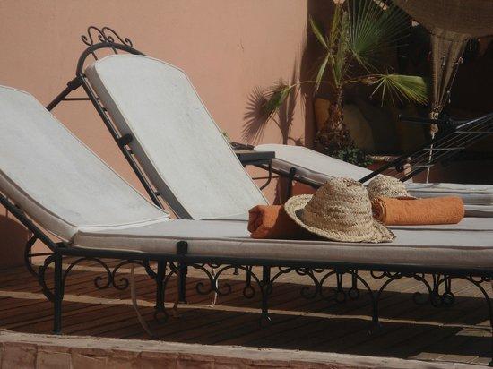 Riad Abaca Badra: terrasse