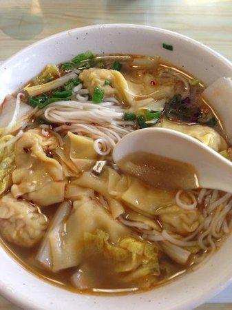 Oriental Canteen: wonton noodle soup
