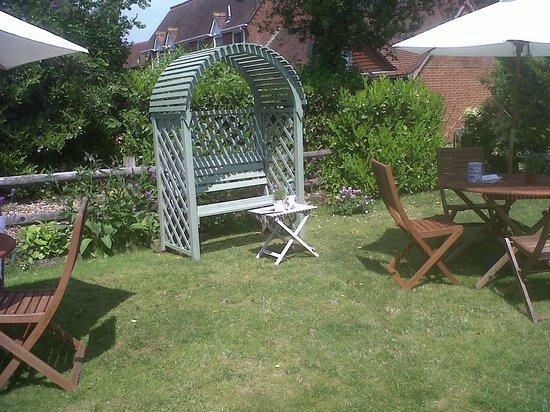 The Secret Garden: TheSecretGardenTearoom2_Brockenhurst_7Jun13