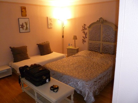 Chambres d'hotes Les Roches Brunes: prima bedden!