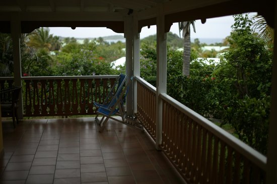 Hotel La Plantation: View from our room. Very Private