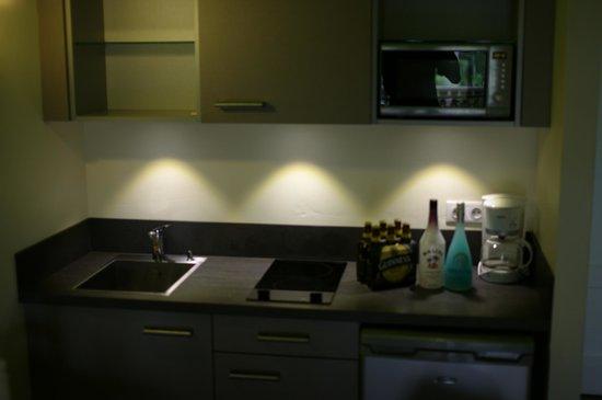 Hotel La Plantation: Kitchen Area