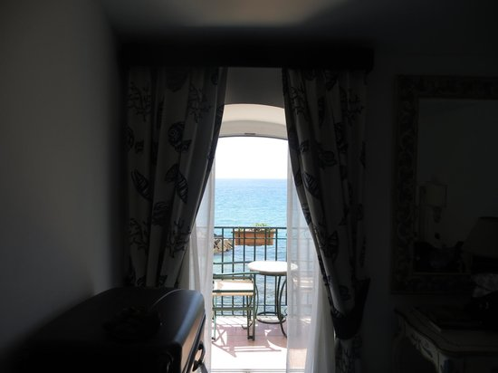 Villa Sirio Hotel: View from the bedroom